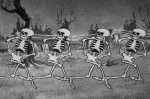 The Skeleton Dance © Walt Disney