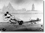 Mickey Cuts Up © Walt Disney