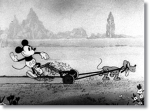 Mickey Cuts Up © Walt Disney