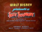 Silly Symphony opening card © Walt Disney