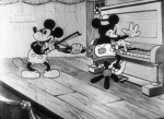 Still from 'The Shindig' featuring Mickey and Minnie playing