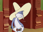 Bugs Bunny rides again © Warner Brothers