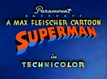Superman opening card © Max Fleischer