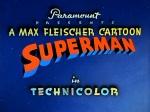 Superman opening card © Max Fleischer