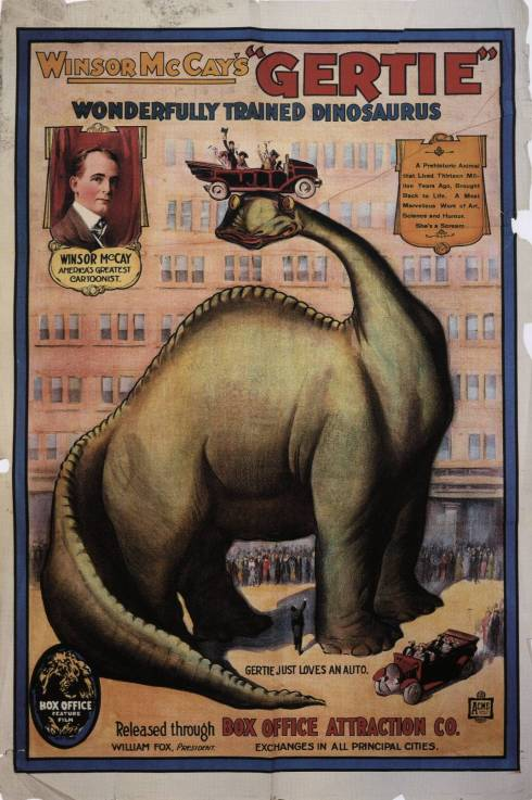 Gertie the Dinosaur poster © Winsor McCay