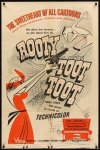 Rooty Toot Toot poster © UPA