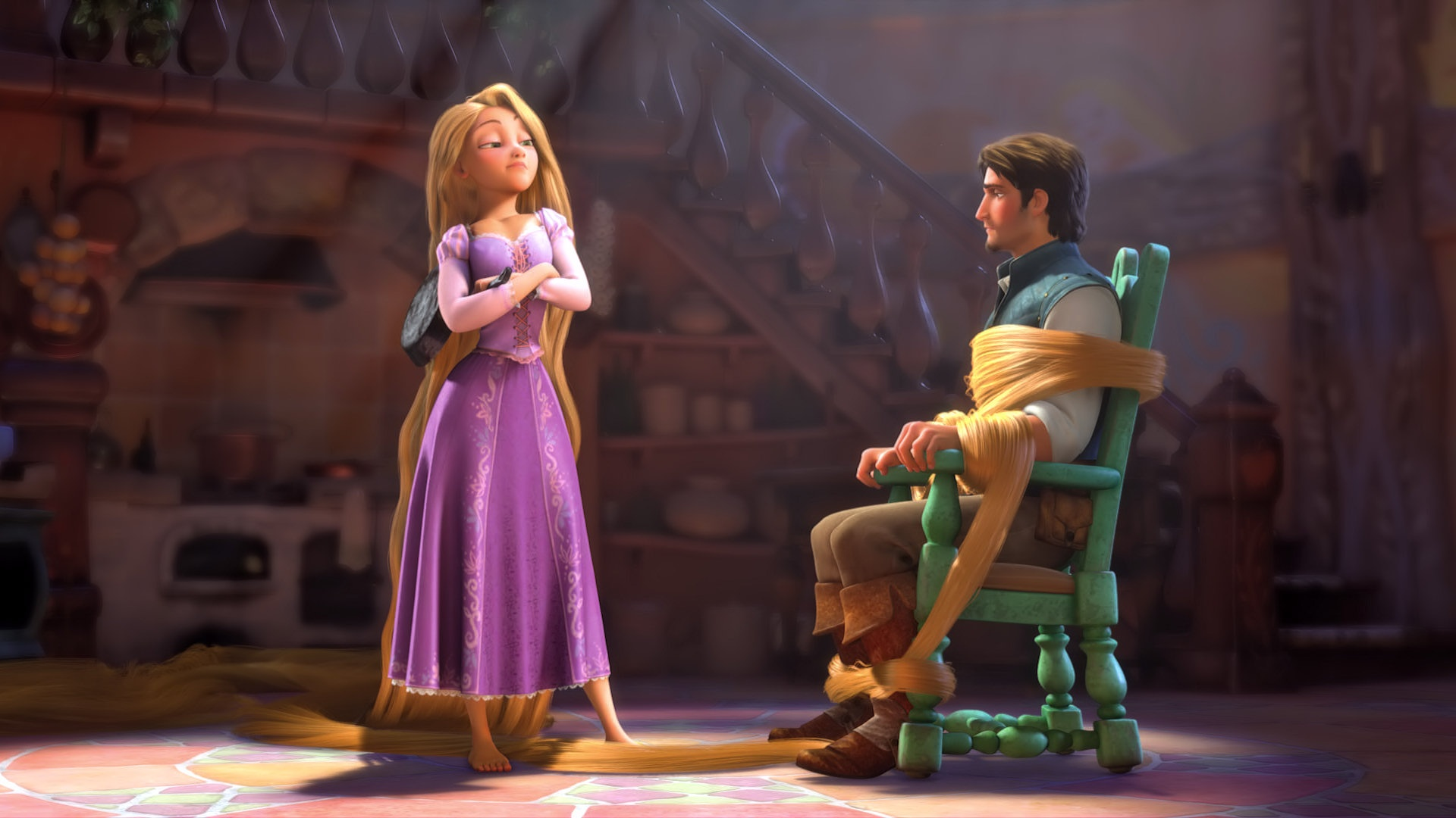 tangled dr grobs animation review