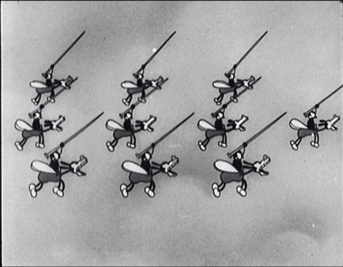 The Spider and the Fly © Walt Disney