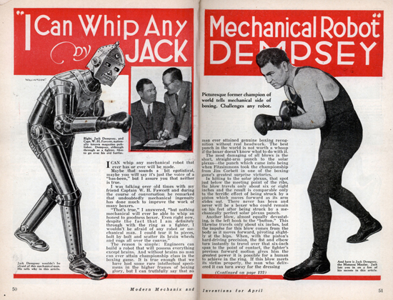 Spread from the April 1934 issue of Modern Mechanix and Inventions