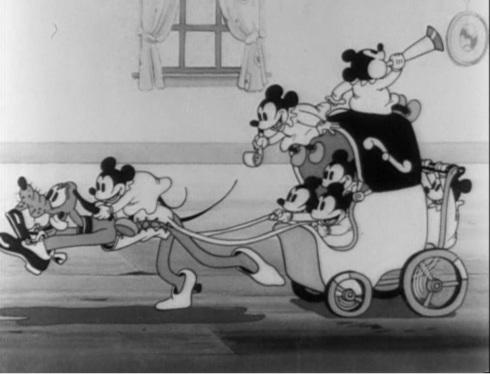 Mickey's Nightmare © Walt Disney