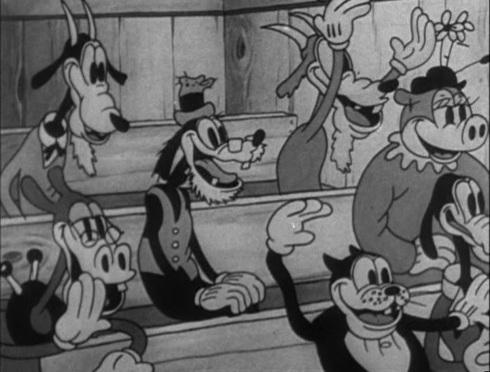 Mickey's Revue © Walt Disney