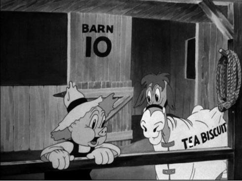 Porky and Tea Biscuit © Warner Bros.