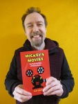 Gijs Grob with his book Mickey's Movies