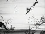 Swim, Monkey, Swim © Ikuo Ōishi