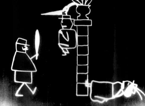 Un drame chez les fantoches © Émile Cohl