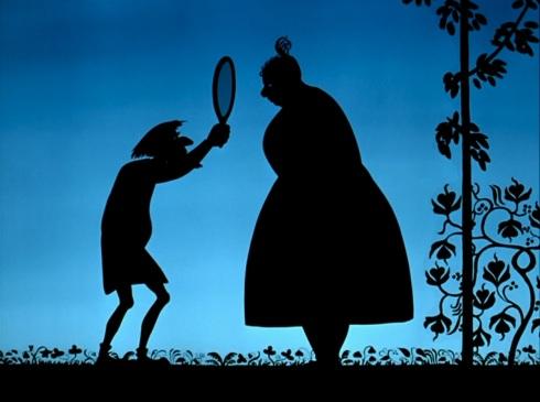 La belle fille et le sorcier © Michel Ocelot