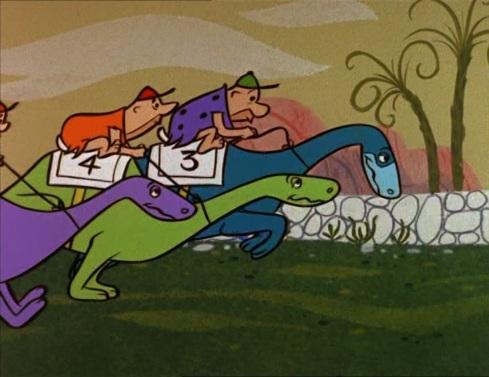 At the Races © Hanna-Barbera