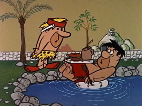 The Swimming Pool © Hanna-Barbera