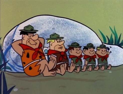 The Good Scout © Hanna-Barbera
