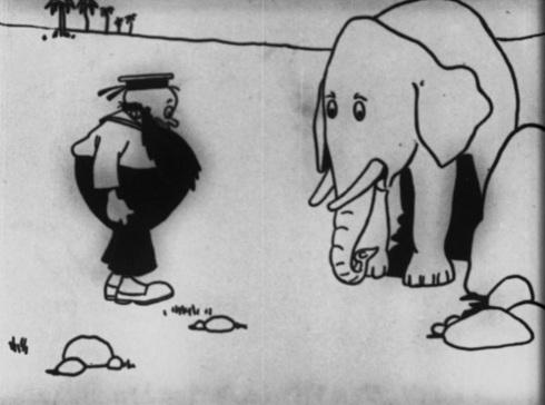 Cartoons on Tour © Raoul Barré